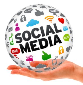 Social media marketing services for small businesses.